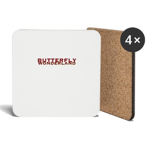 Butterfly Wonderland - Untersetzer (4er-Set)