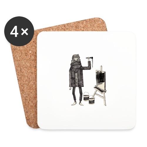 n. m. pane x oilcolor - Coasters (set of 4)