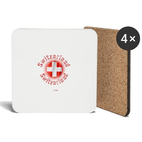 Switzerland - Posavasos (juego de 4)