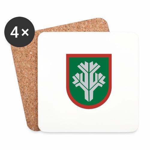 sissi - Lasinalustat (4 kpl:n setti)