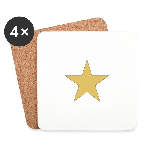 ardrossan st.pauli star - Coasters (set of 4)