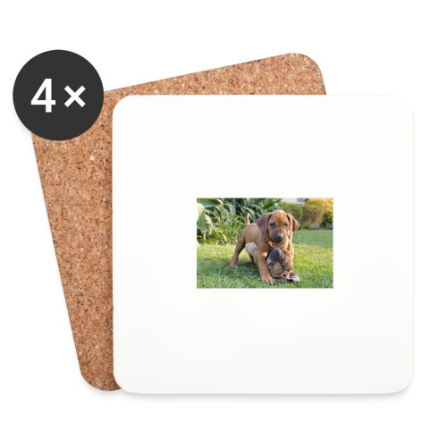 adorable puppies - Coasters (set of 4)