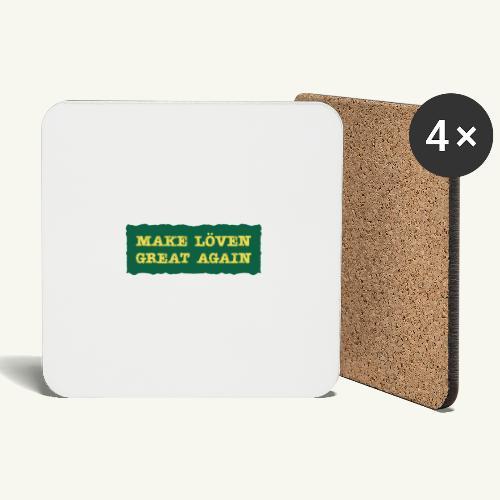 Make Löven great again - Underlägg (4-pack)