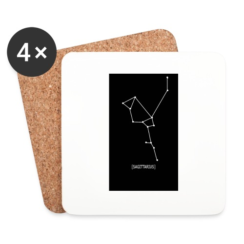 SAGITTARIUS EDIT - Coasters (set of 4)