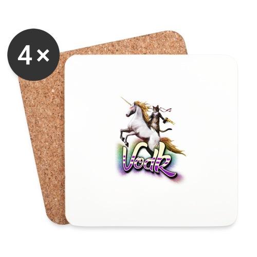 VodK licorne png - Dessous de verre (lot de 4)