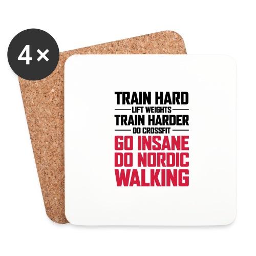 Nordic Walking - Go Insane - Lasinalustat (4 kpl:n setti)