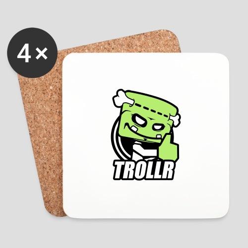 TROLLR Like - Dessous de verre (lot de 4)