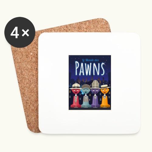 Les Pawn Brothers Chantent - Dessous de verre (lot de 4)