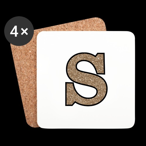 Girls S For Sonnit Golden Sparkle - Coasters (set of 4)