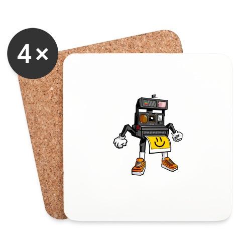 Appareil Polaroid 660 - Dessous de verre (lot de 4)