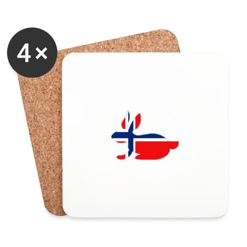 bunny_NY_LOGO_LI - Coasters (set of 4)