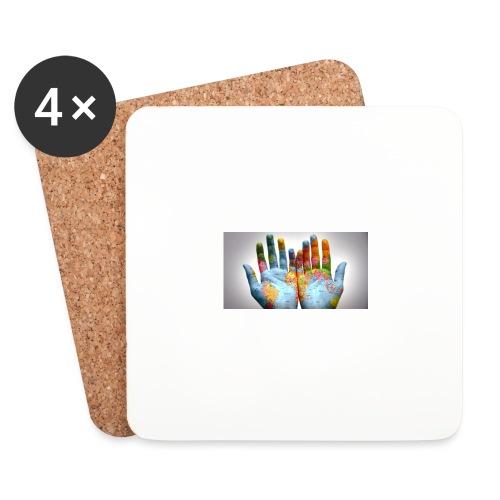 Hands of the world - Underlägg (4-pack)