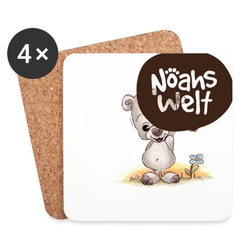 Noah der kleine Bär - Untersetzer (4er-Set)
