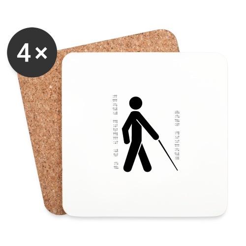 Blind T-Shirt - Coasters (set of 4)