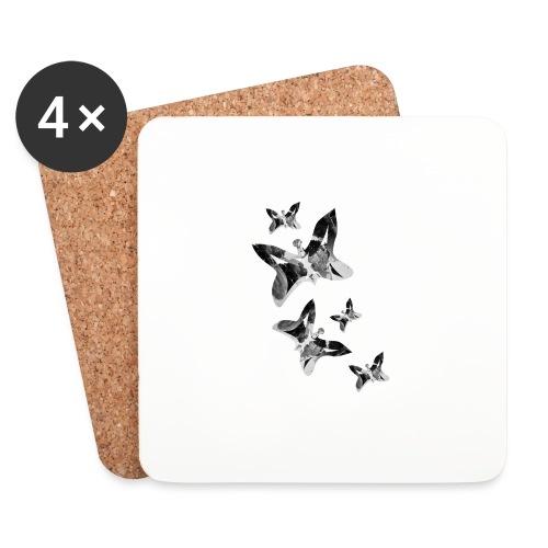 Schmetterlinge - Untersetzer (4er-Set)