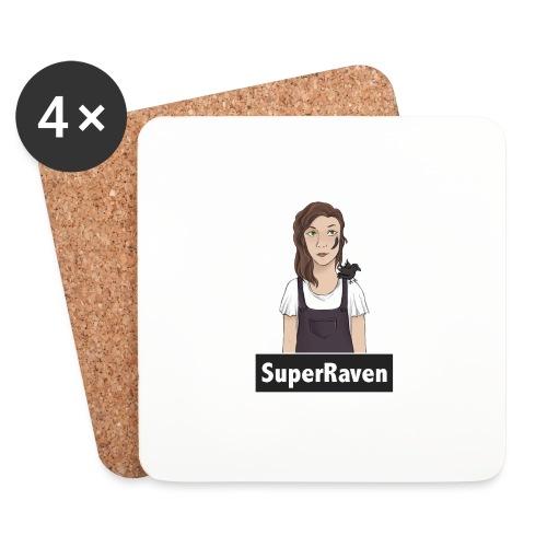 SuperRaven - Coasters (set of 4)