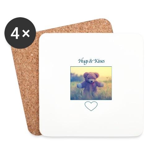 Hugs & Kisses: Phone Case - Coasters (set of 4)