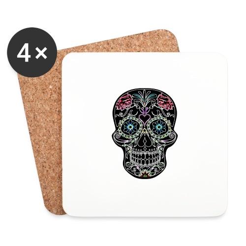 Floral Skull - Coasters (set of 4)