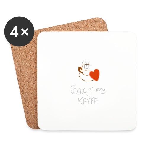 Kaffe - Brikker (sett med 4)