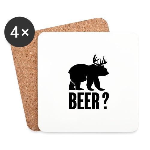 Beer - Dessous de verre (lot de 4)