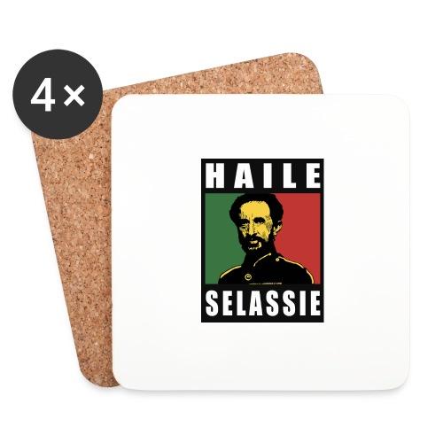Haile Selassie - Rastafari - Reggae - Rasta - Untersetzer (4er-Set)