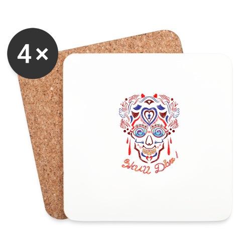 Skull Tattoo Art - Coasters (set of 4)