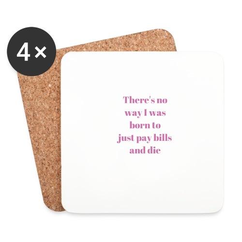 No way - Coasters (set of 4)