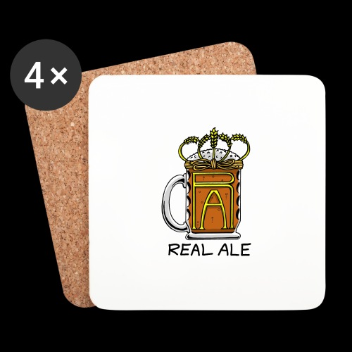 Real Ale - Coasters (set of 4)