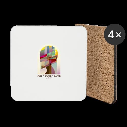 Farbenlehre - Untersetzer (4er-Set)
