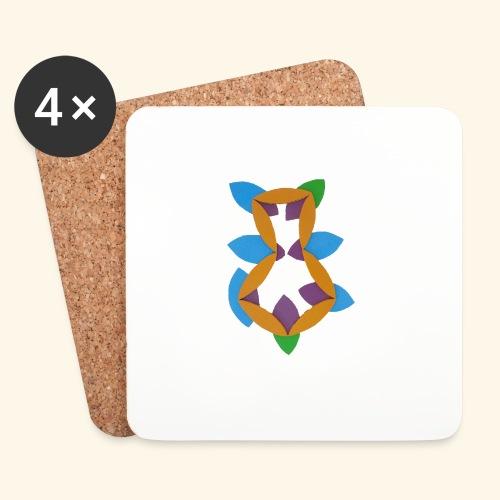 oranjeblanjebleu - Onderzetters (4 stuks)