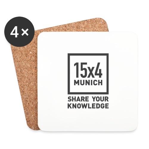 Share your knowledge - Untersetzer (4er-Set)