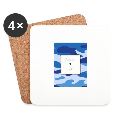 My channel - Coasters (set of 4)