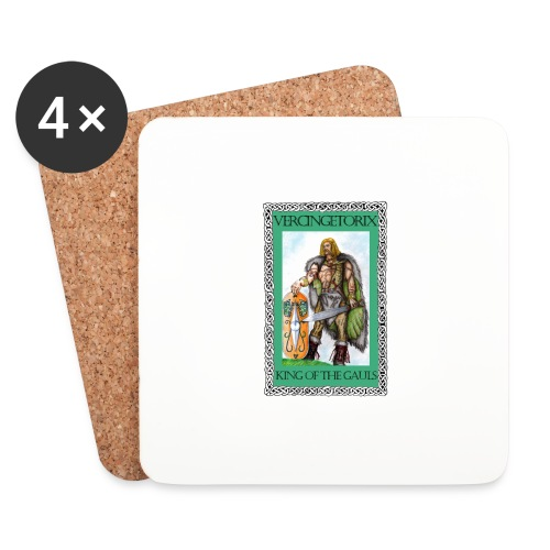 Vercingetorix - Coasters (set of 4)