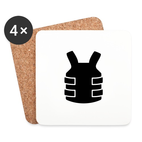 Bullet Proof Design - Coasters (set of 4)