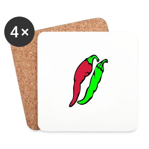 Chilli - Podstawki (4 sztuki w zestawie)