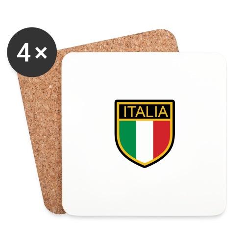 SCUDETTO ITALIA CALCIO - Sottobicchieri (set da 4 pezzi)