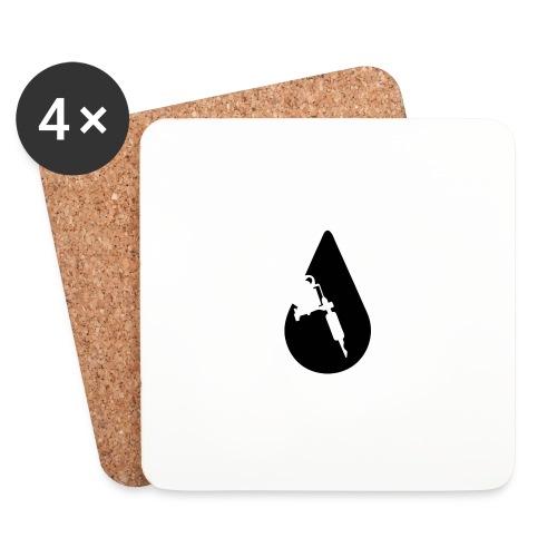 INK Drop Tee - Glasbrikker (sæt med 4 stk.)