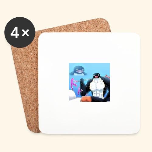 pingu - Lasinalustat (4 kpl:n setti)
