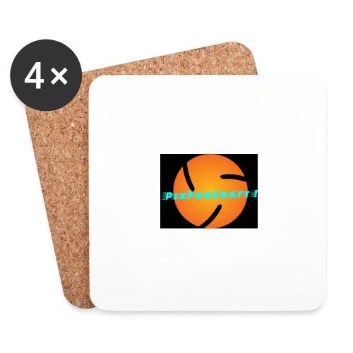 LOGO PixForCraft (Le logo de Juin 2017) - Dessous de verre (lot de 4)