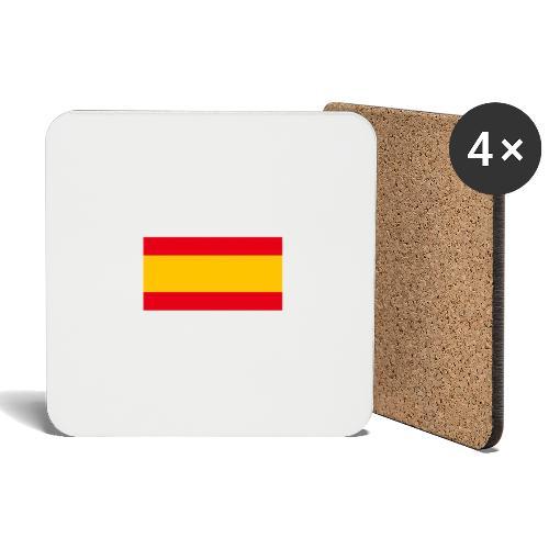 Bandera España - Posavasos (juego de 4)