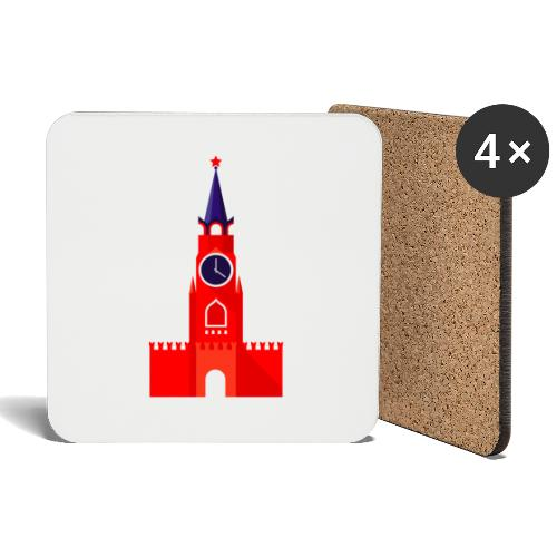 Kremlin by Julia Dudnik - Coasters (set of 4)