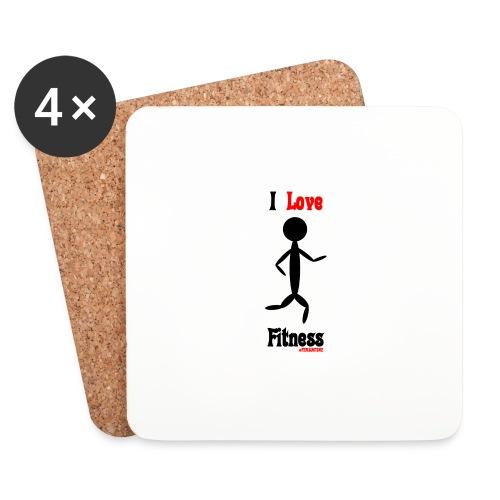 Fitness #FRASIMTIME - Sottobicchieri (set da 4 pezzi)