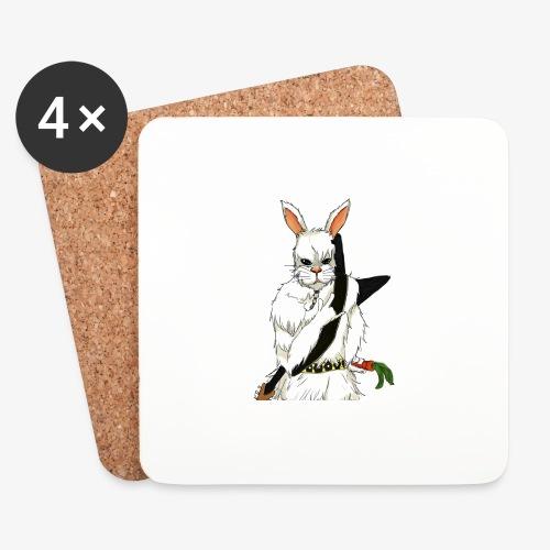 The white Rabbit - Brikker (sett med 4)