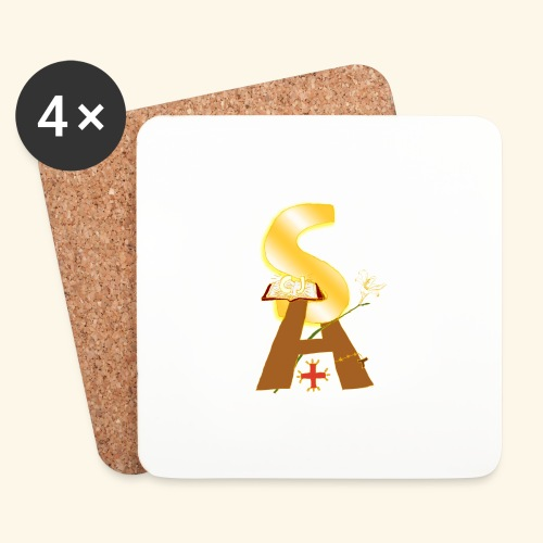 Saint Antony - Sottobicchieri (set da 4 pezzi)
