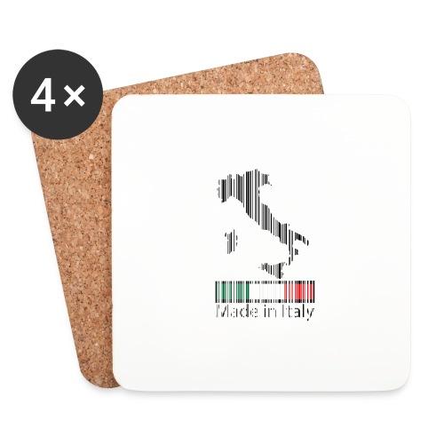 Made in Italy - Sottobicchieri (set da 4 pezzi)