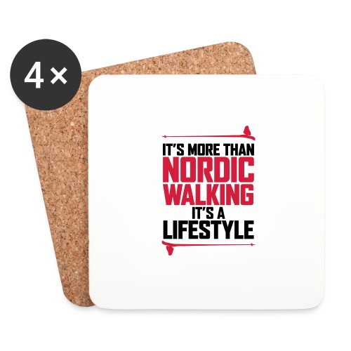 It's more than Nordic Walking - Lasinalustat (4 kpl:n setti)