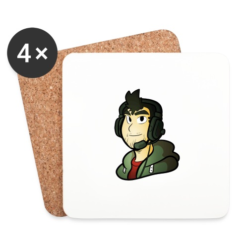 Gamer / Caster - Coasters (set of 4)