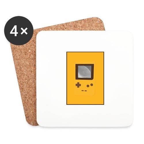 Game Boy Nostalgi - Laurids B Design - Glasbrikker (sæt med 4 stk.)