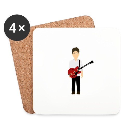 Noel Gallagher White Shirt Edition - Coasters (set of 4)