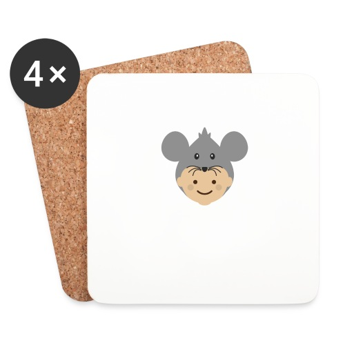 Mr Mousey | Ibbleobble - Coasters (set of 4)